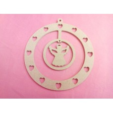 4mm MDF  Angel Dreamcatcher 150mm